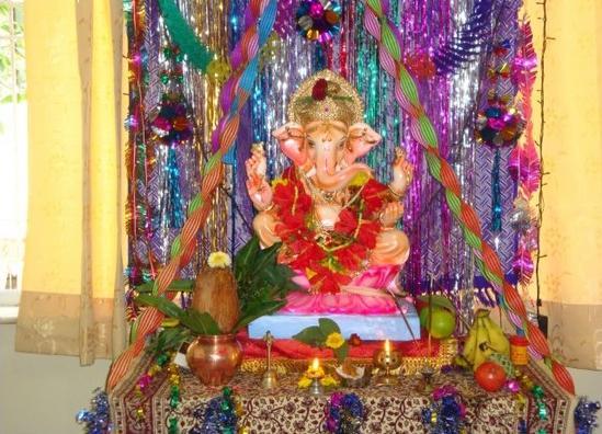 Ganesh Chaturthi 2015 Decoration Ideas 1