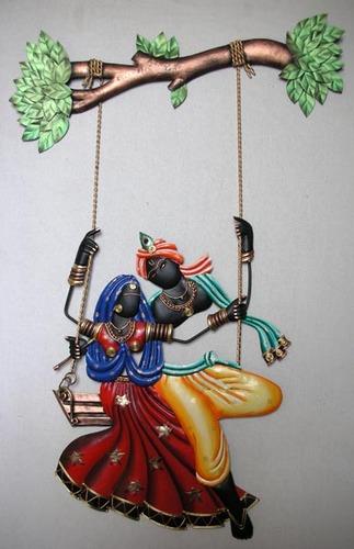 metal-radha-krishna-wall-hanging-500x500 Decoration Tips for Radhaashtami