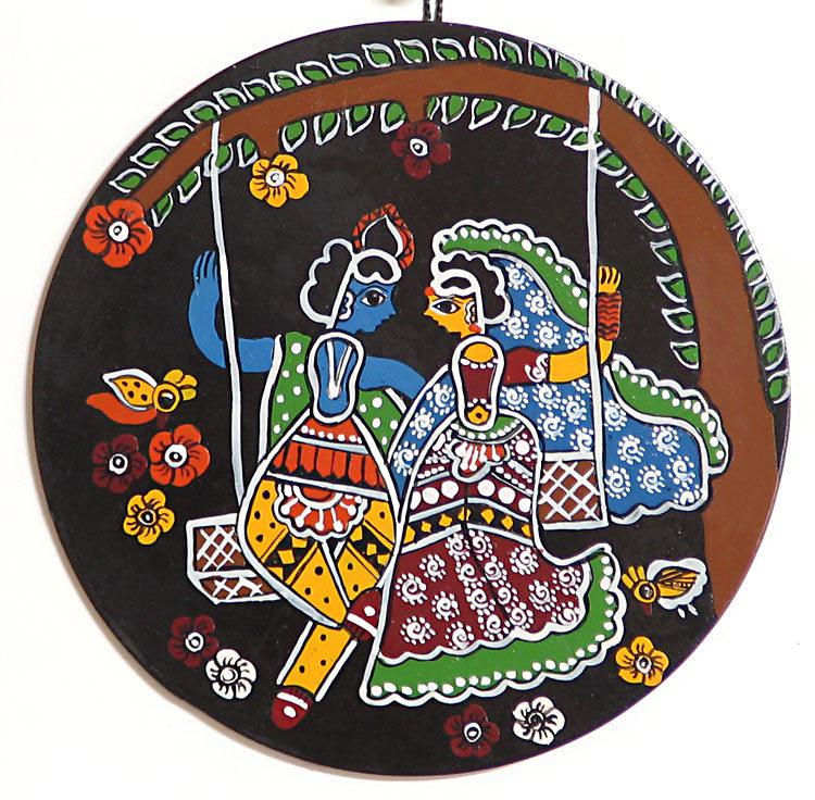 radha-krishna-on-swing-wall-hanging-AK30_l Decoration Tips for Radhaashtami