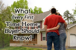 1st Tips for first time home buyers