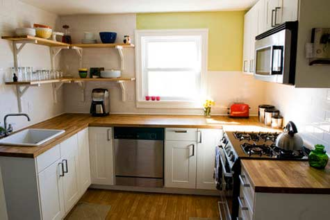 1-small-kitchens-02-1 How to design a small kitchen?