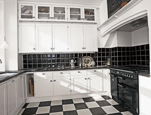 Elegant-black-and-white-kitchen
